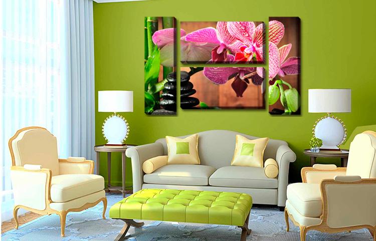 Модульные картины орхидеи