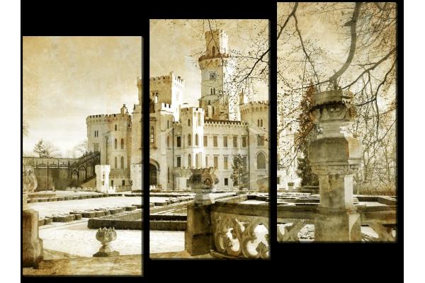 Винтажный замок