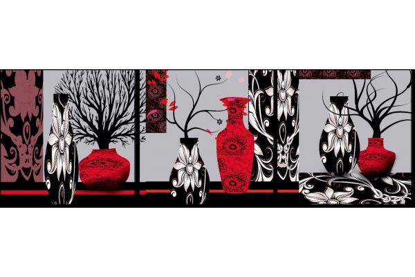 Красно-черные вазы
