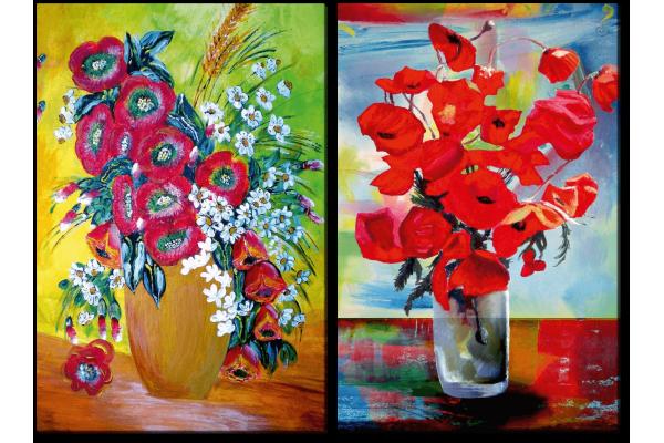 Красота цветов в вазе