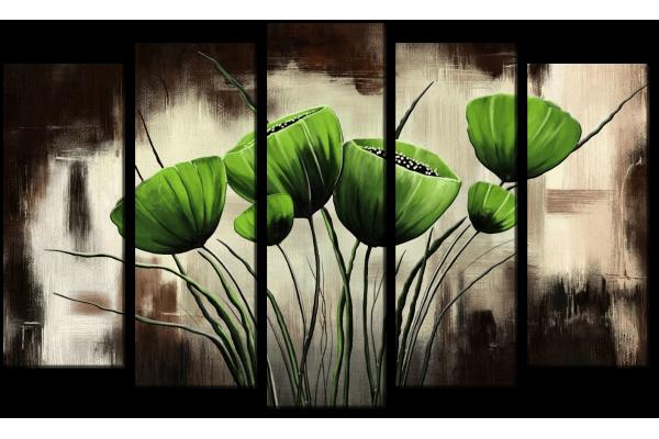 Зеленые маки