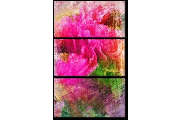 Пион красками