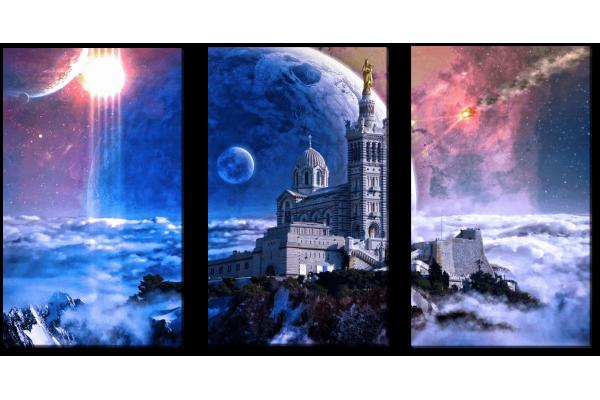Крепость в космосе