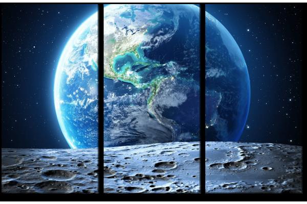 Вид с Луны