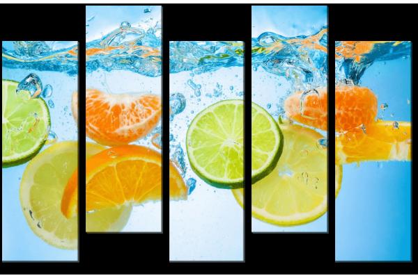 Цитрус в воде