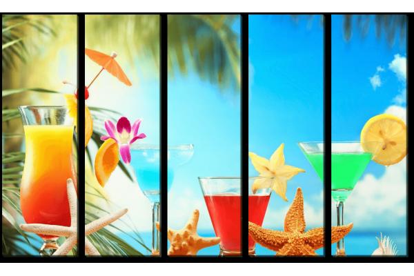 Коктейли на пляже