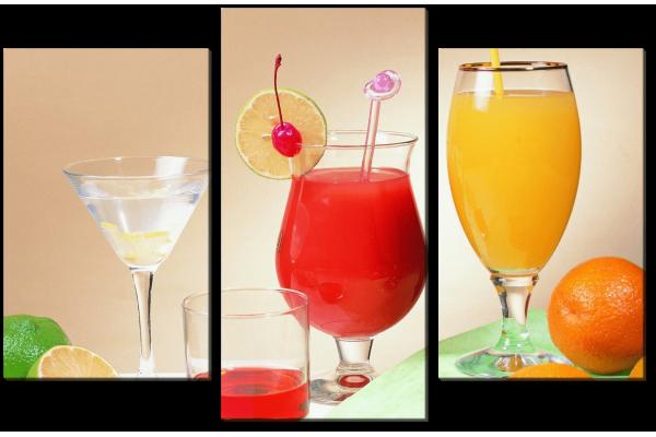 Разные коктейли