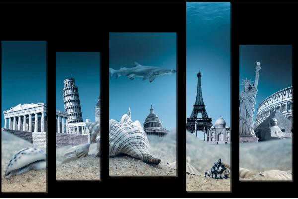 Город под водой