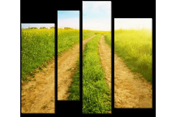 Дорога на рассвете