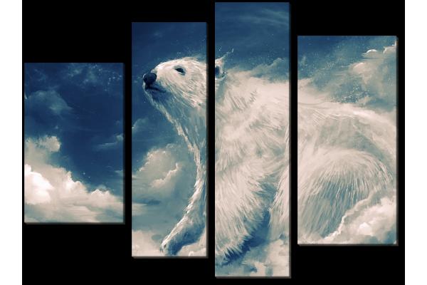 Облачный мишка