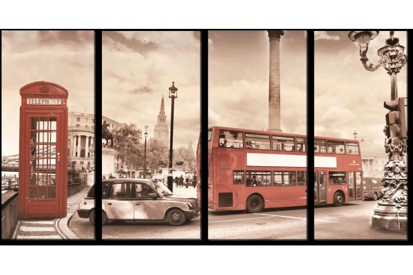 Лондон сепия